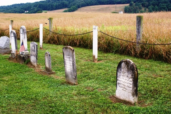 Archibald, Catherine, Jeremiah, Oliver, Samuel and Elizabeth McCulloh Tombstones