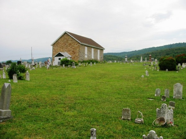 Stone Church Graveyard-Little Cove (photo 2007)