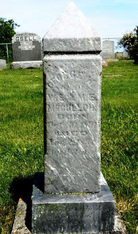 George W McCulloh 1891-1891 (Son of Mary E. (Sweigert) McCulloh & W. E. McCulloh)