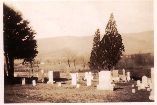 Trinity United Church of Christ Graveyard - Ft. Louden, PA (Photo Date Unknown)