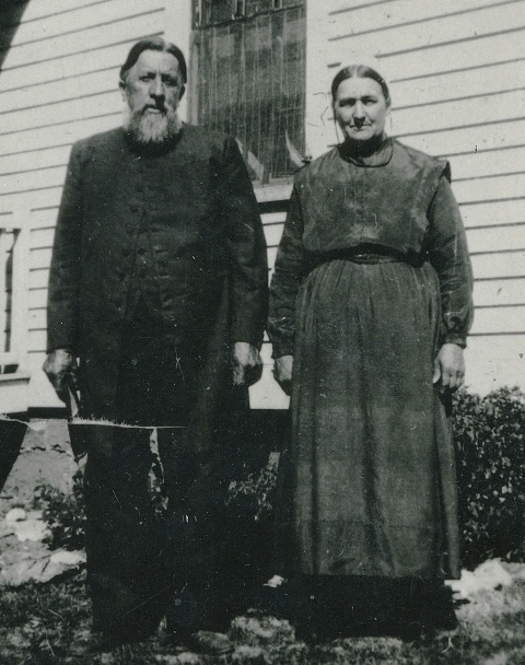 William & Maria McCulloh - August 31, 1930