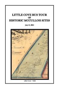 Little Cove Bus Tour of Historic McCulloh Sites