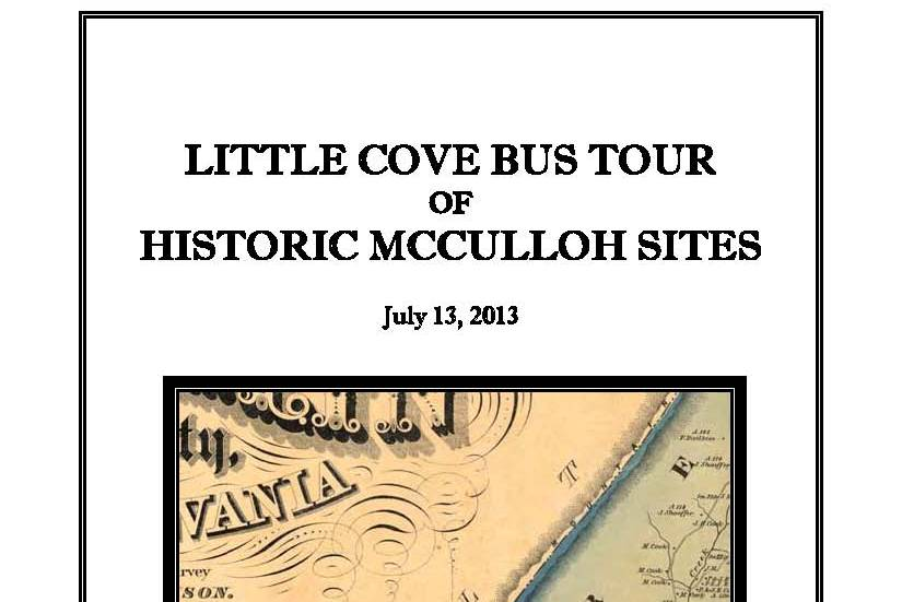 Pages from Little Cove Bus Tour – cover cropped