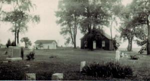 Red Brick Church in Morrison