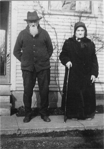Samuel and Maria Longanecker - date unknown