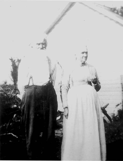 Samuel and Mariah Longanecker (date unknown)