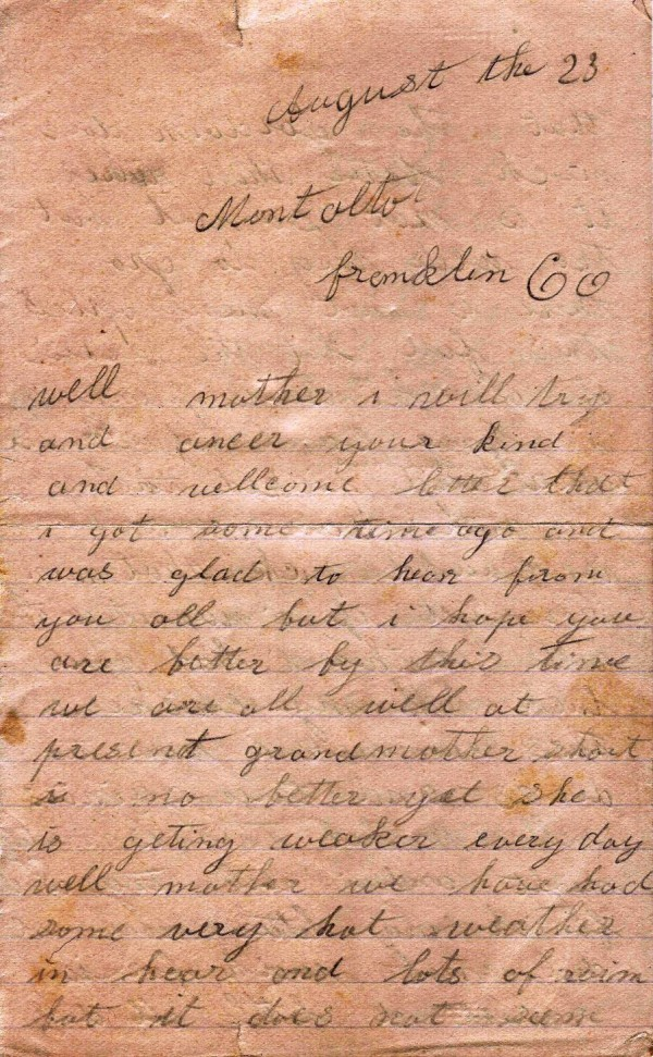 Sarah Short letter 1-3a web